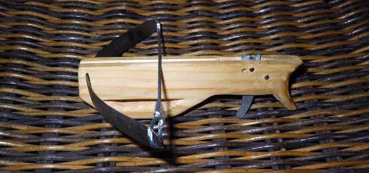 Make a Mini Wooden Crossbow