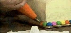 Make & decorate a bearing birthday balloon cake