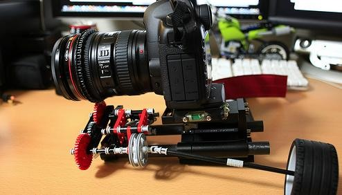 Lego Follow Focus DIY