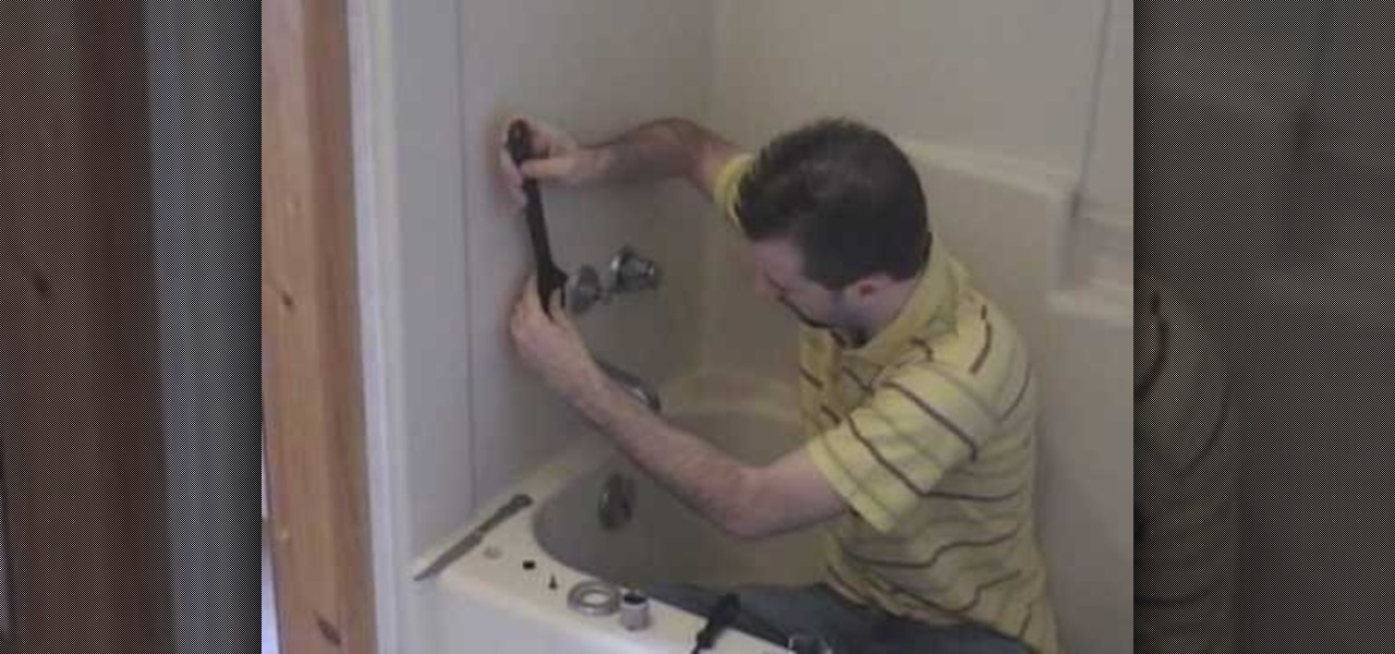 How to Replace the washer in your shower faucet to stop a leak ...