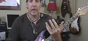 Play funk guitar