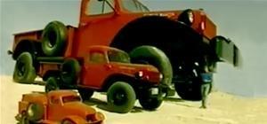 Massive Pickup Truck Fits Entire House Inside