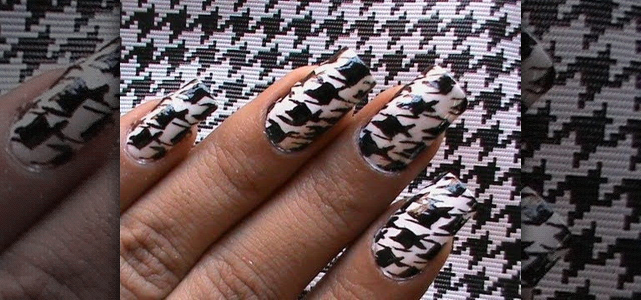 Do Houndstooth Nails