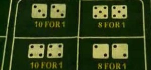 Avoid bad bets in craps