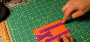 Make a magic duct tape wallet with secret compartments