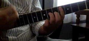 "Play ""Smells Like Teen Spirit"" on acoustic guitar"