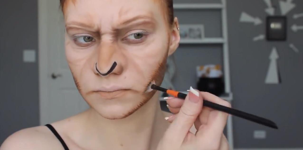 Ash Face Paint Homemade