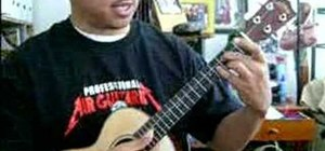 "Play Wyclef Jean's ""Sweetest Girl"" on ukulele"