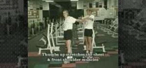 Stretch with stationary exercises