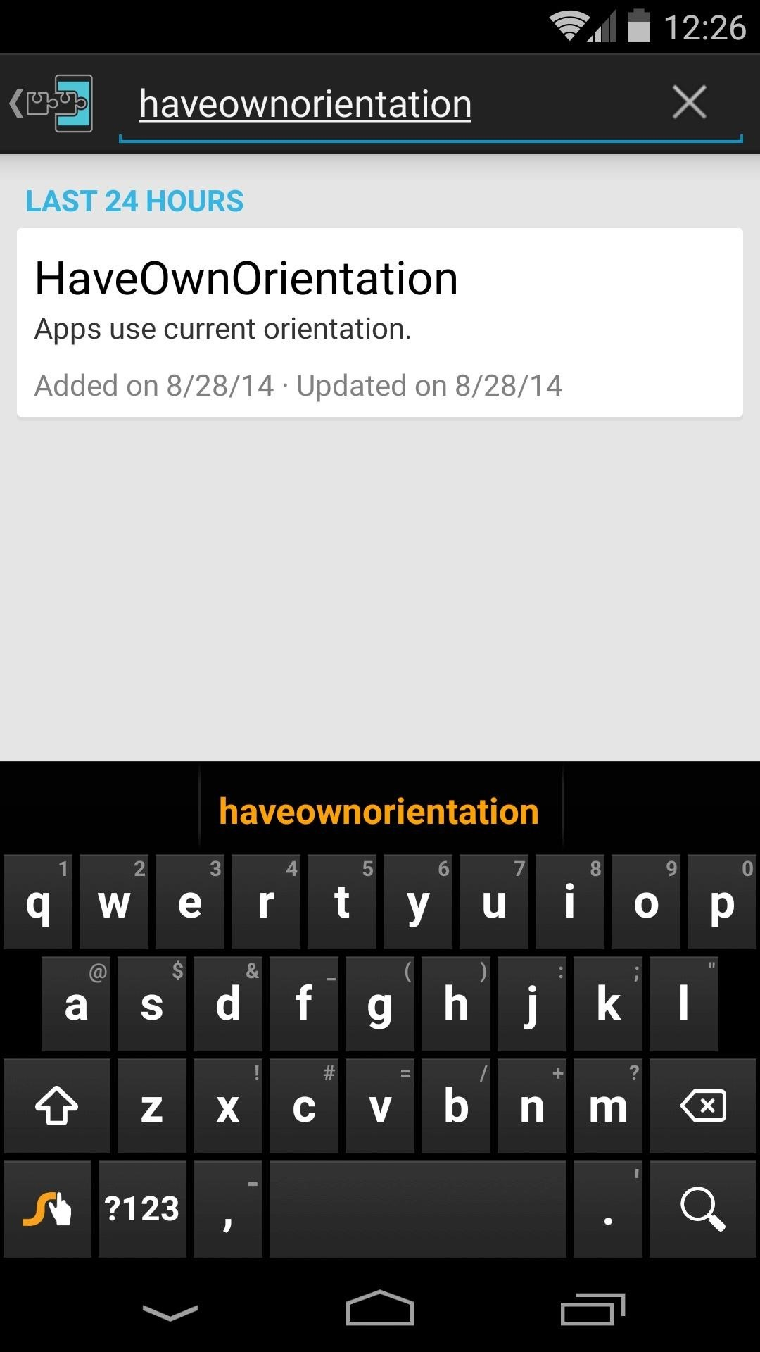 Rotate Any Orientation-Locked App on Android