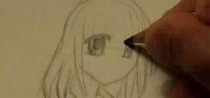 Draw a manga/anime girl