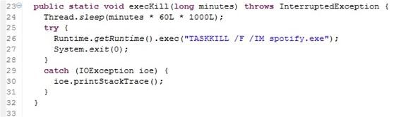 How to Code a Simple Java App to Kill Any Process After a