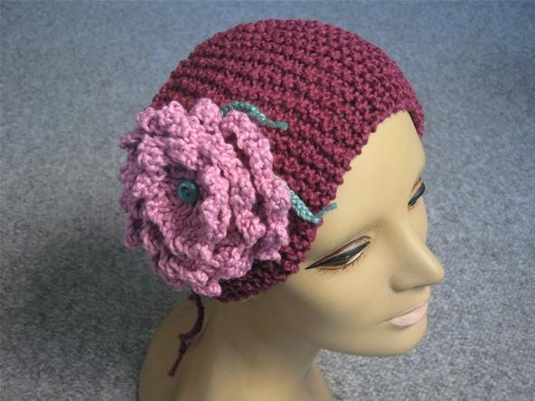 How to Knit a Flower Headband