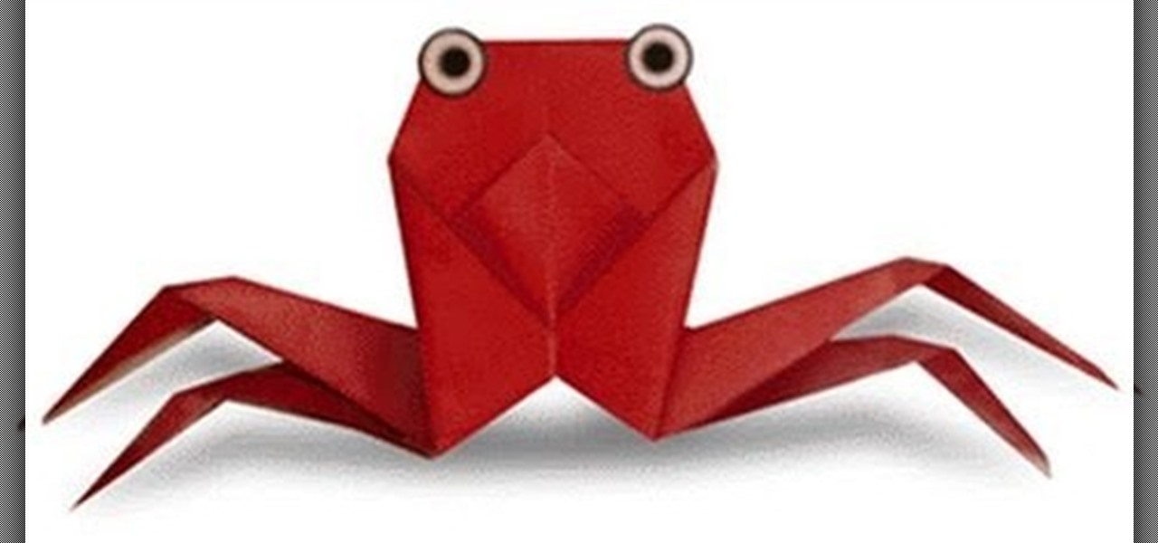 How To Make An Origami Crab For Beginners