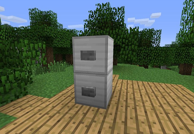 How To Build A Fridge In Minecraft Xbox