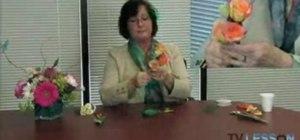 Make flower corsages