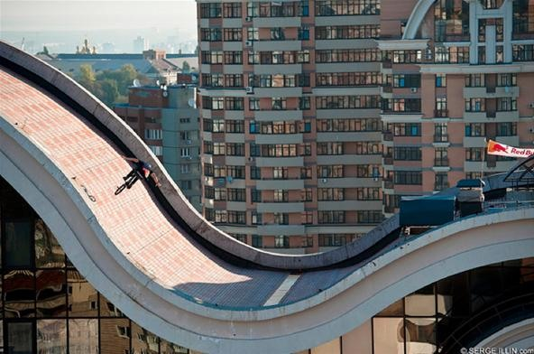 Double Take: Roof Riding Skyscrapers in Kiev