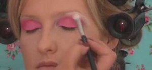 Apply Barbie doll makeup for Halloween