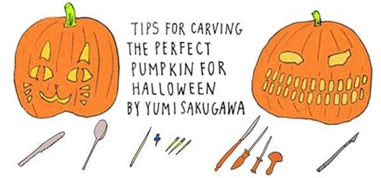 Carve the Perfect Halloween Pumpkin