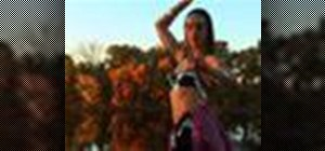 Belly dance basic beginner moves