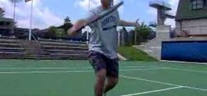 Volley in tennis like Roger Federer