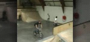 Tailwhip on a BMX