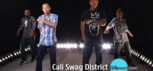 Do the Dougie dance with a breakdown from Cali Swag District