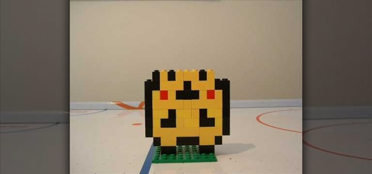 How To Make A Lego Pikachu Construction Toys Wonderhowto