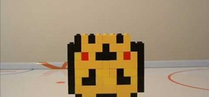 Make a lego Pikachu