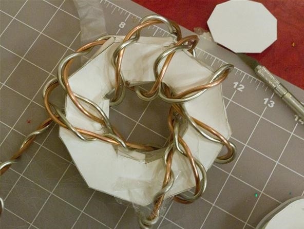 How to Make Torus Knots from Soft Metals