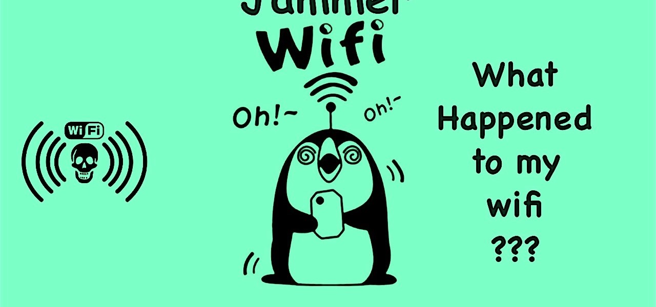 Kick Other Devices Wifi Off! Wifi Jammer Running on Android