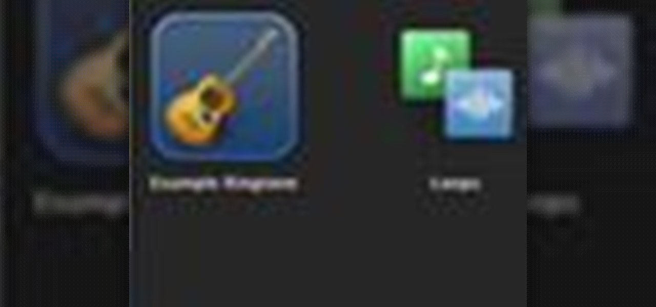 how to put ringtone using garageband