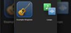 Create an iPhone ringtone in GarageBand '09