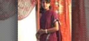 Wear a sari