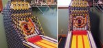 Full-Sized Mechanical Skeeball Machine Built Entirely Out of K'Nex—And It Works!