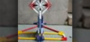Build a K'NEX shooting target system