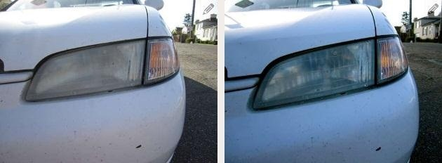 Money Saving Tip: Make Your Headlights Shine with Ordinary Toothpaste