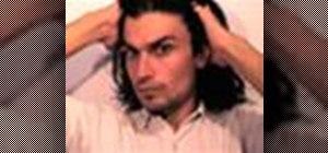 Choose a long hair style for men