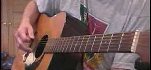 """Play """"Save it for Later"""" by English Beat on guitar"""