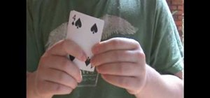 Perform an amazing 'color changing four' card trick
