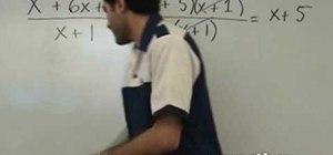 Divide two polynomials in intermediate algebra