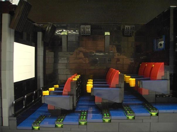 Working LEGO Movie Theater