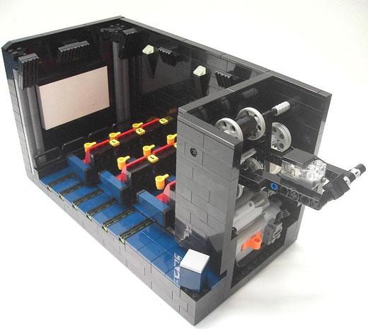 Working LEGO Movie Theater