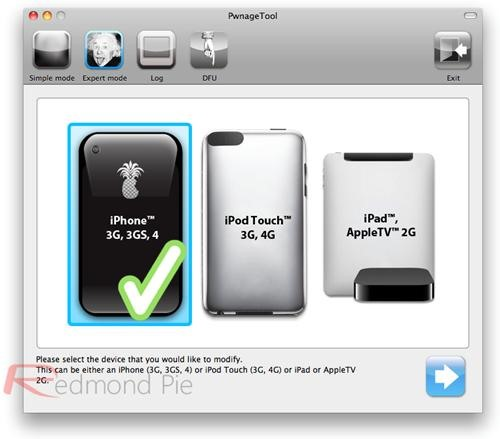 How to Jailbreak an iOS 4.3 iPhone 4, iPad or iPod Touch with PwnageTool