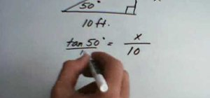 Use inverse functions in trigonometry