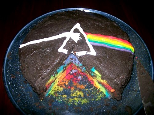 Dark Side of the Moon Cake