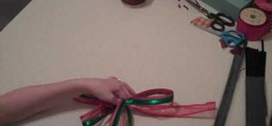 Make a decorative bow
