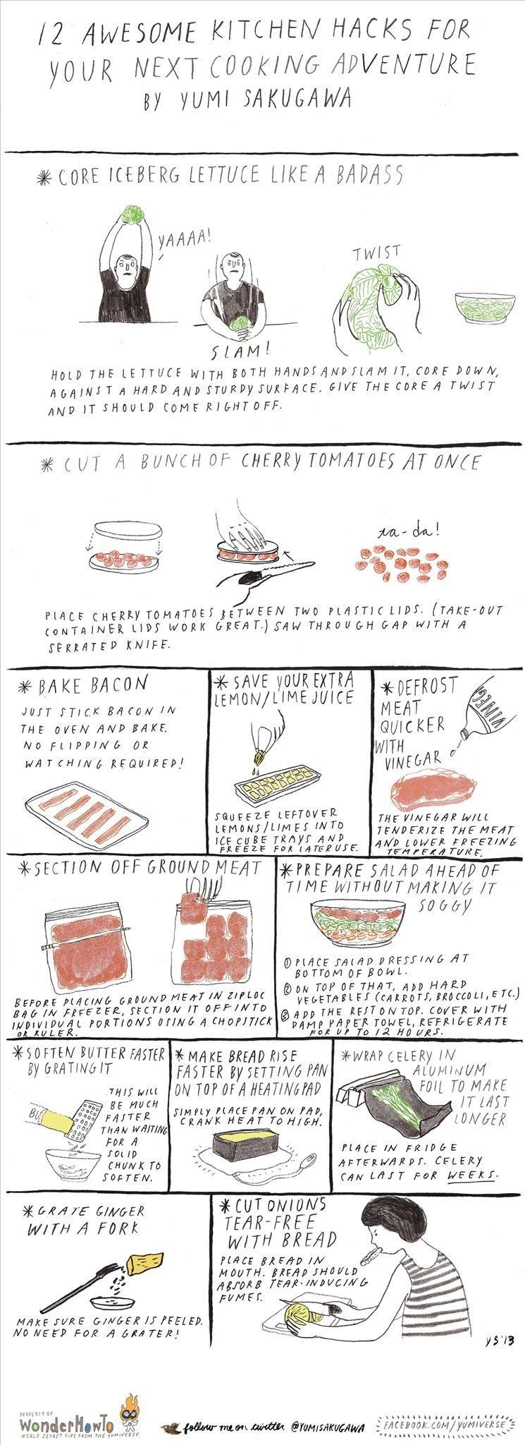 12 Awesome Kitchen Hacks for Your Next Cooking Adventure