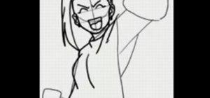 Draw the manga character Ino Yamanaka from Naruto