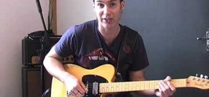 "Play ""Molly's Chamber"" by Kings Of Leon on guitar"